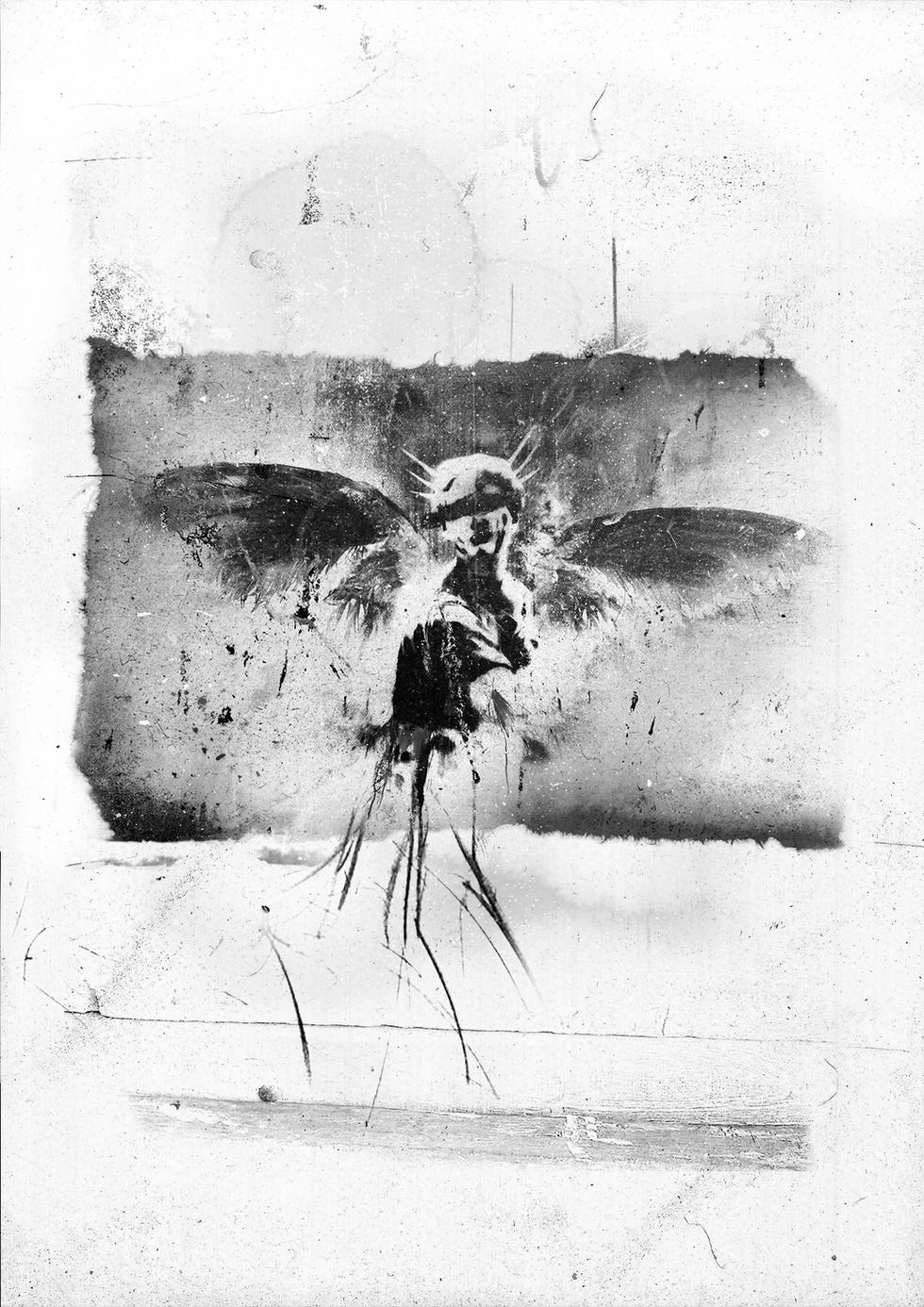 Fallen Angel (Portrait)