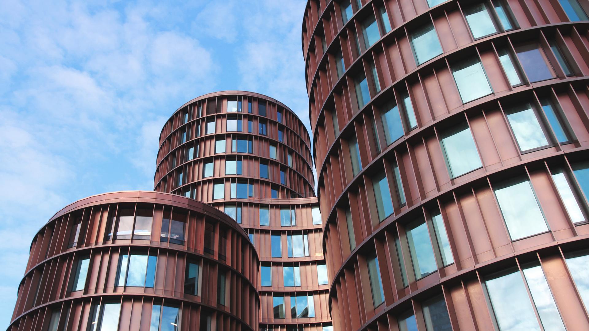 Round Buildings Architecture