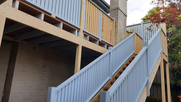 Balustrade, Hand Railing, Deck & Stair Repairs