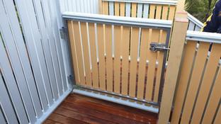 Balcony Gates