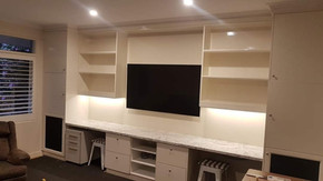 In Built TV Cabinets & Storage
