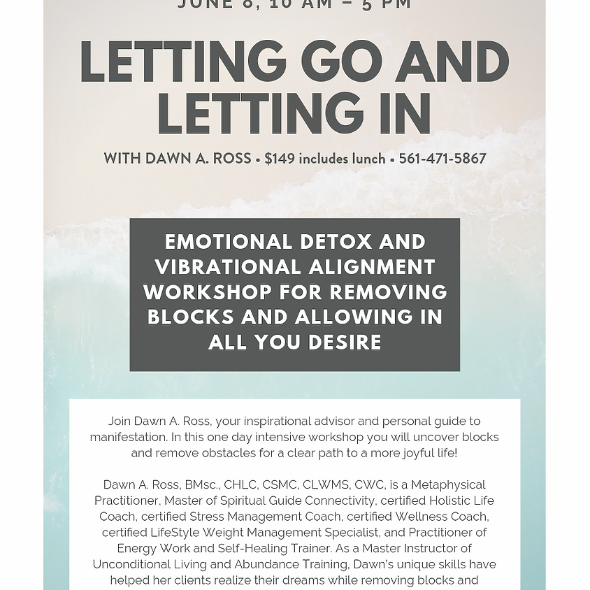Let Go and Let In - The Workshop