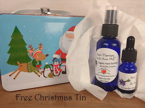 Holiday Gift Packs  (starting price 1 Sanitizer and 1 Oil)