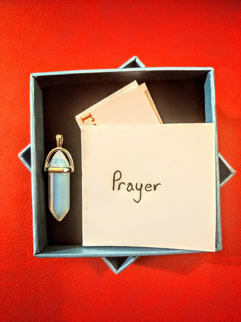 The crystal prayer package