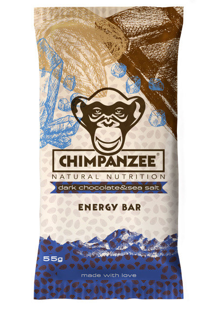 Dark Chocolate & Sea Salt Energy Bar