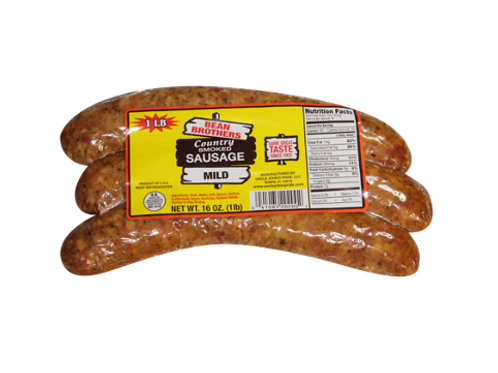 Bean Brothers Country Smoked Mild Sausage