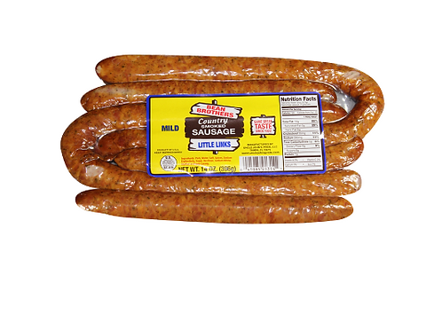 Bean Brothers Mild Country Smoked Sausage - Little Links