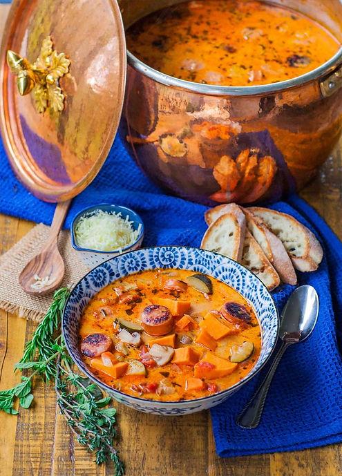 Creamy-Winter-Sweet-Potato-Sausage-Soup-