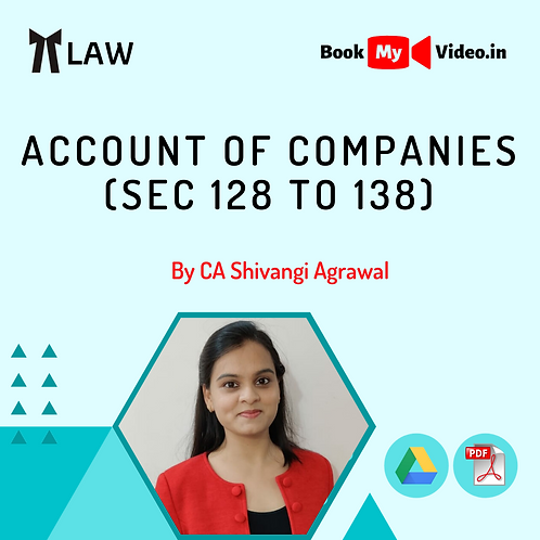 Company Law - Account of Companies