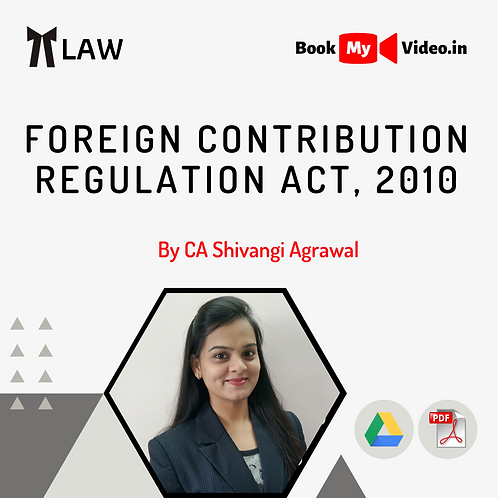 Foreign Contribution Regulation Act, 2010