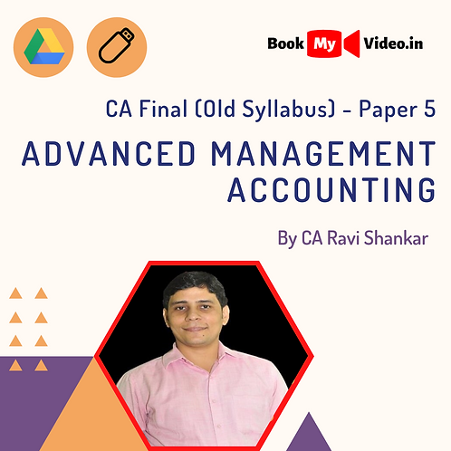 CA Final - Advanced Management Accounting by CA Ravi Shankar