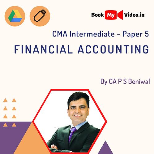 CMA Intermediate - Financial Accounting by CA P S Beniwal