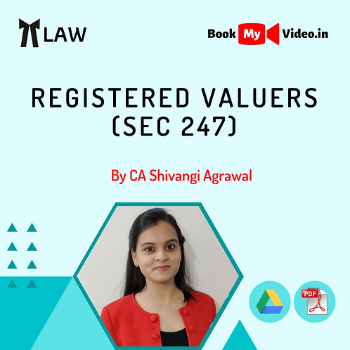 Company Law - Registered Valuers