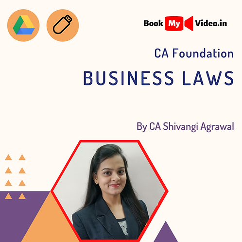 CA Foundation - Business Laws by CA Shivangi Agrawal