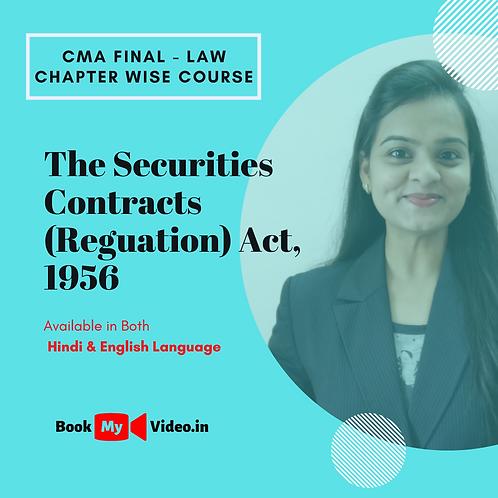 CMA Final Law - SCRA, 1956