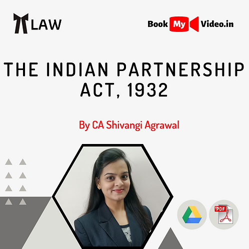 The Indian Partnership Act, 1932