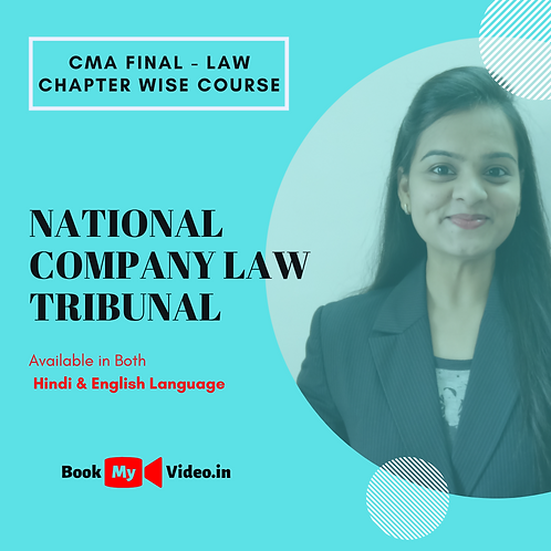 CMA Final Law - National Company Law Tribunal
