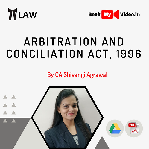 Arbitration and Conciliation Act, 1996