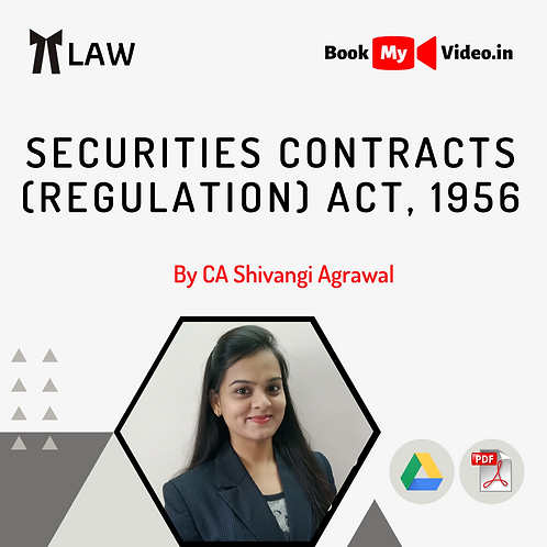 Securities Contracts (Regulation) Act, 1956