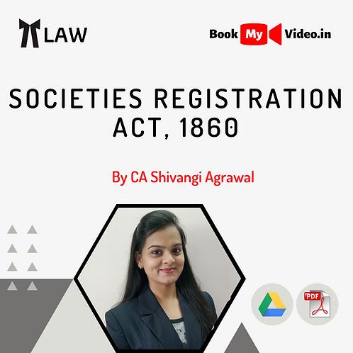 Societies Registration Act, 1860