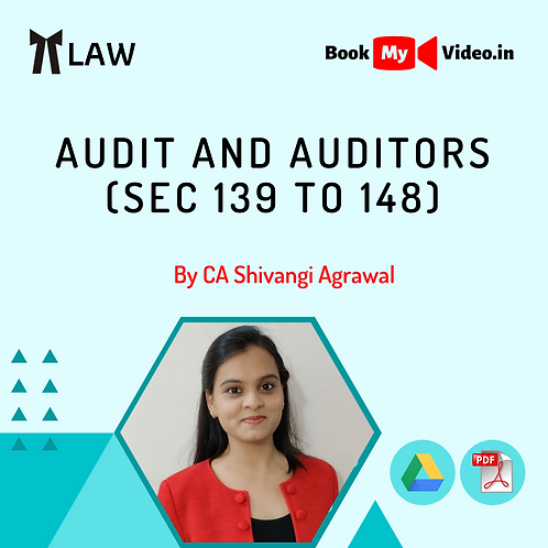 Company Law - Audit and Auditors