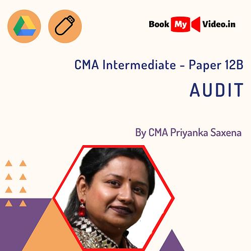 CMA Intermediate - Audit by CMA Priyanka Saxena