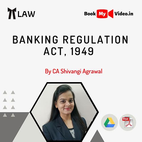 Banking Regulation Act, 1949