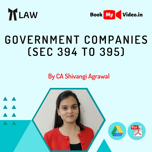 Company Law - Government Companies