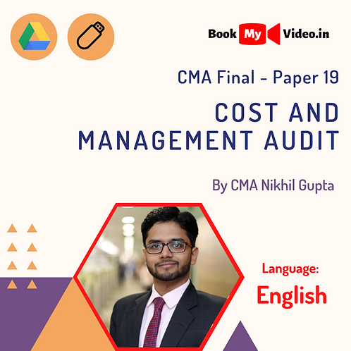 CMA Final - Cost and Management Audit by CMA Nikhil Gupta (In English)