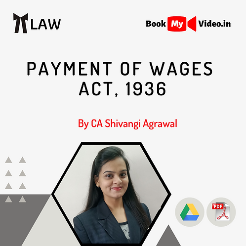 Payment of Wages Act, 1936
