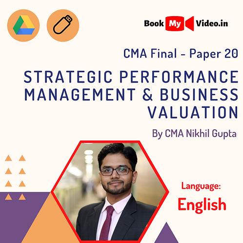 CMA Final - SPM & BV by CMA Nikhil Gupta (In English)