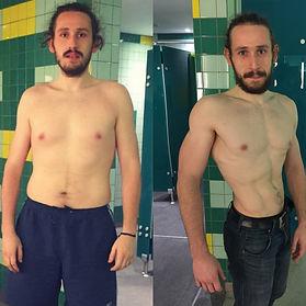 Muscle Building tranformation Jarek