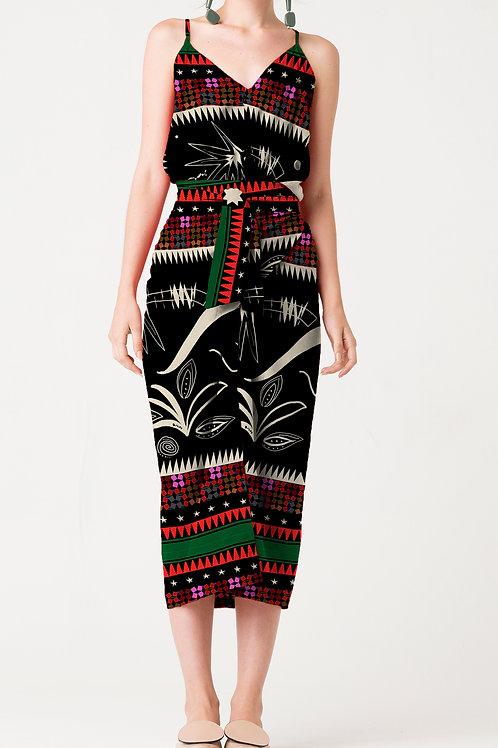 Vestido Pareô Seda Marrocos