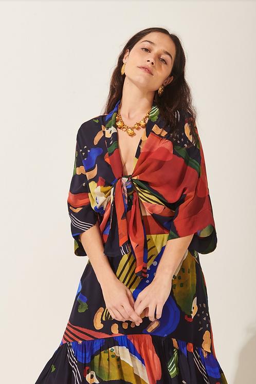 Kimono Seda Laguna