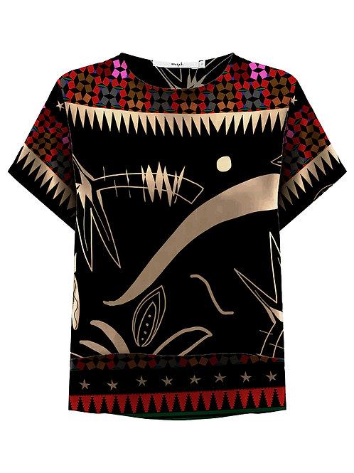 Camiseta Tee Mullet Marrocos