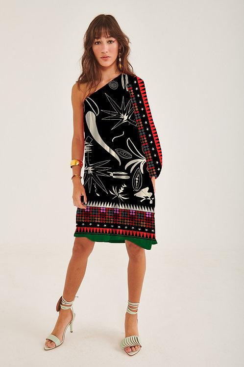 Vestido Deusa Curto Marrocos