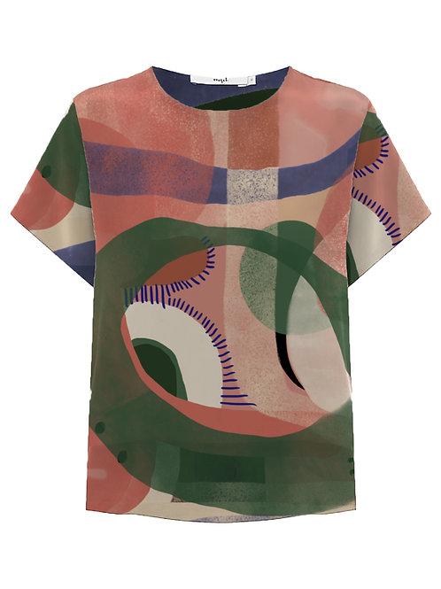 Camisa Tee Mullet Quimera
