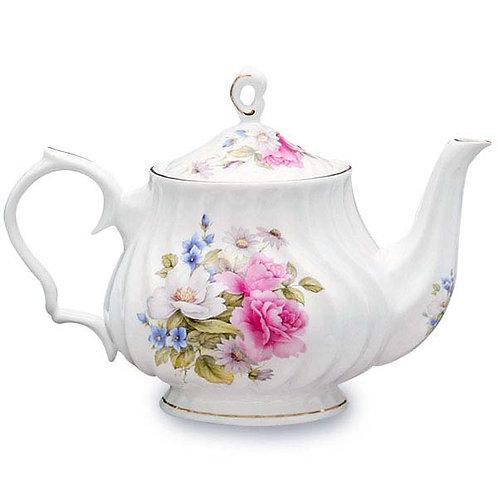 Teapot Rental - Cottage Pattern