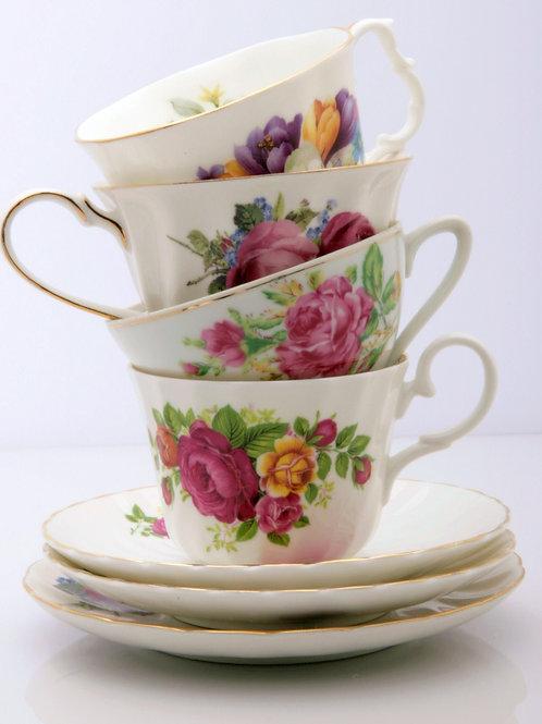 Teacup Rental - Cottage Pattern