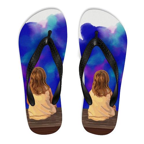 Tilly - Unisex Flip-Flops