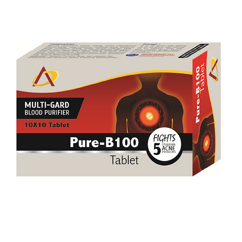 PURE-B100 TABLET (Pack of 10×10)