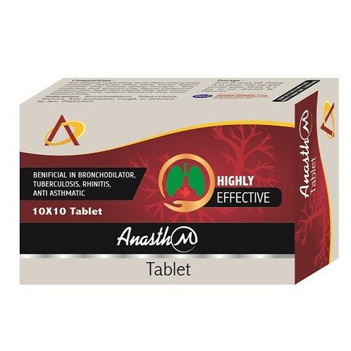 ANASTH-M TABLET (Pack of 10×10)