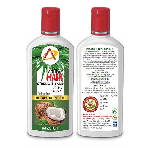 ANUPAM HAIR STRENGTHENER OIL 100ML (Pack of 3)