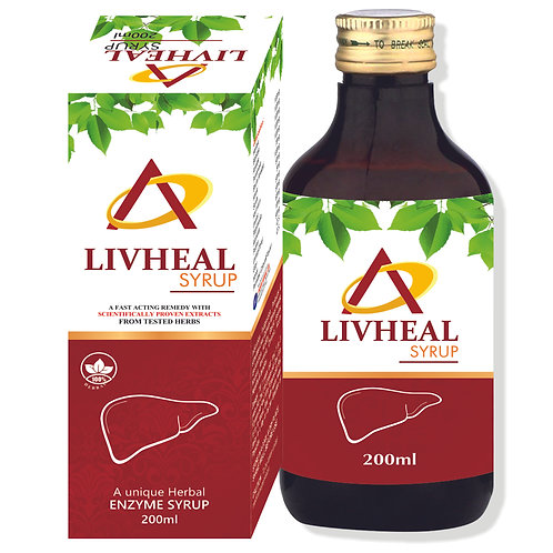 LIVHEAL SYRUP (Pack of 3)