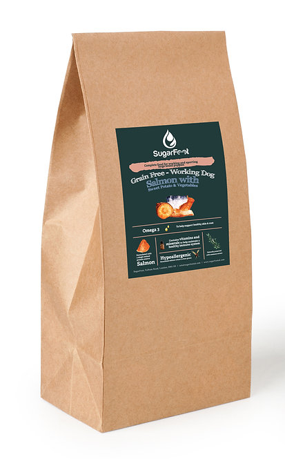 Premium Puppy Food Large Dog - Salmon with Sweet Potato & Veget