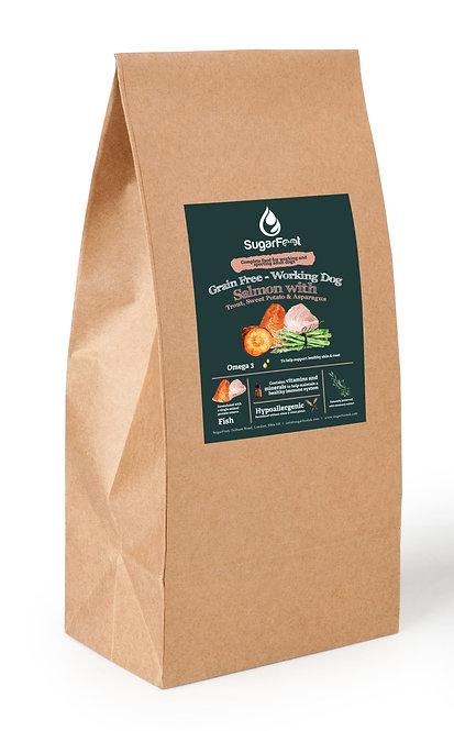 Premium Adult Dog Food - Salmon with Trout, Sweet Potato & Asparagus