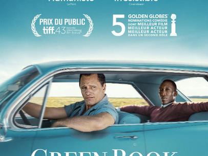 GREEN BOOK  | Vendredi 1er mars 2019 à 20:30