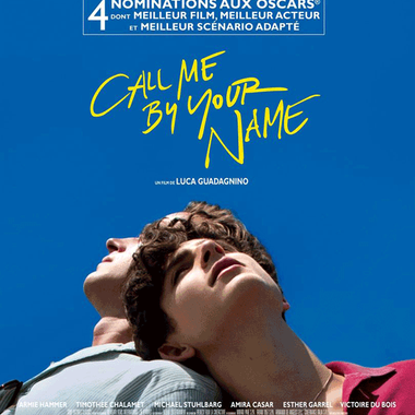 CALL ME BY YOUR NAME | Sam. 14 avril à 20:30