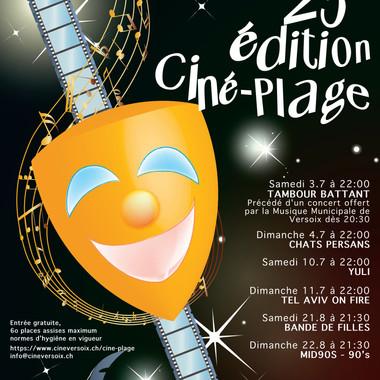 Programme Ciné-Plage 2021