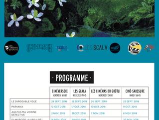 Le programme de CinéPrim's de septembre à mai 2019